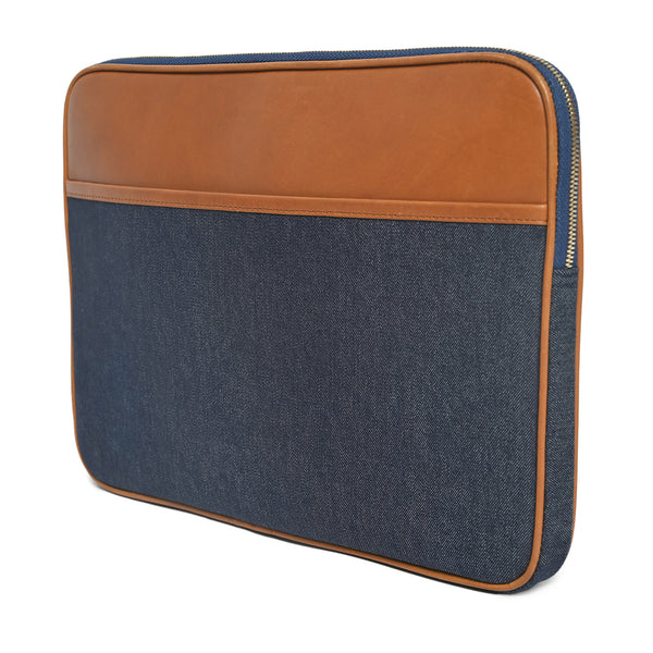 Denim Laptop Case