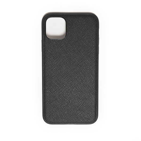 iPhone Cross Full Leather Case | Black