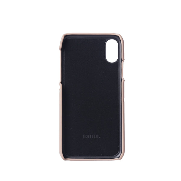 iPhone Case With Card Slots | Pink-Beige