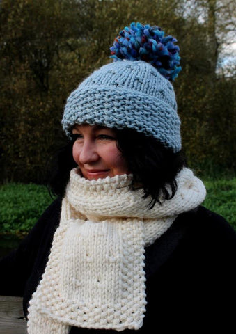 Cosy, chunky hat