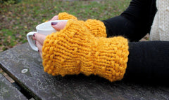 Cosy gloves - Moochka