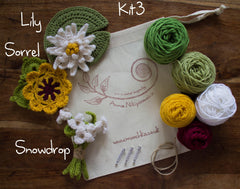 Crochet Flower Kits