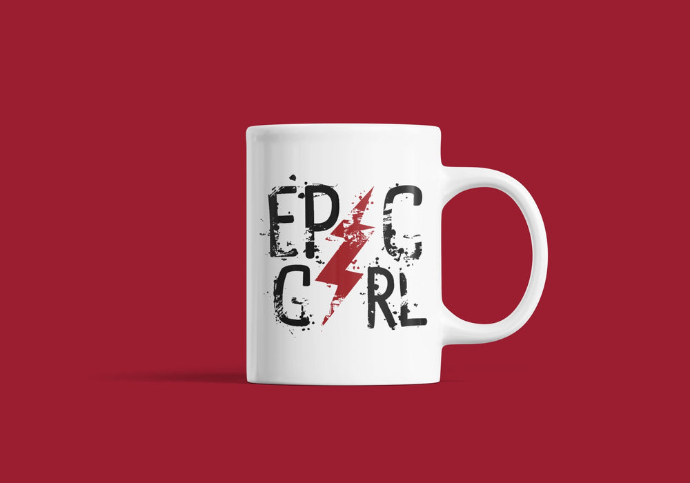 Epic girl Coffee Mug Fuel