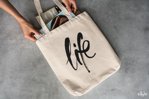 Tote bag - life Fuel