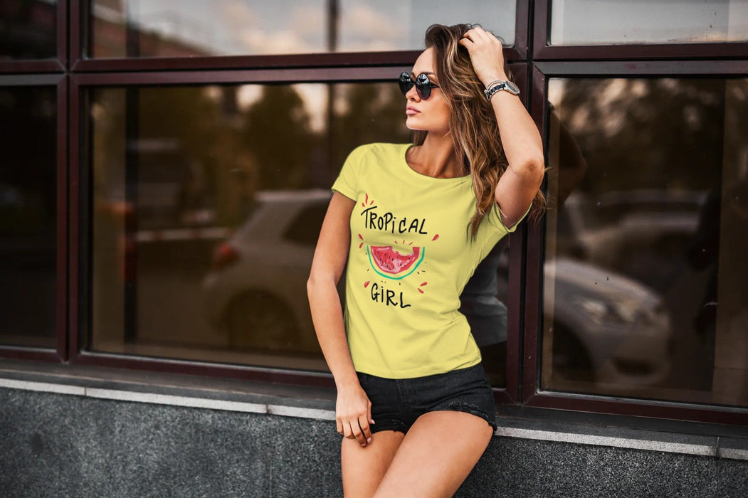 Tropical girl T-shirt Fuel