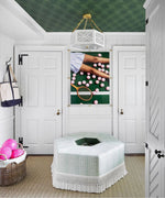 Load image into Gallery viewer, The Lexi Semi Flush in a Mud Room by Savarie Interiors for the 2020 Lake Forrest Showhouse