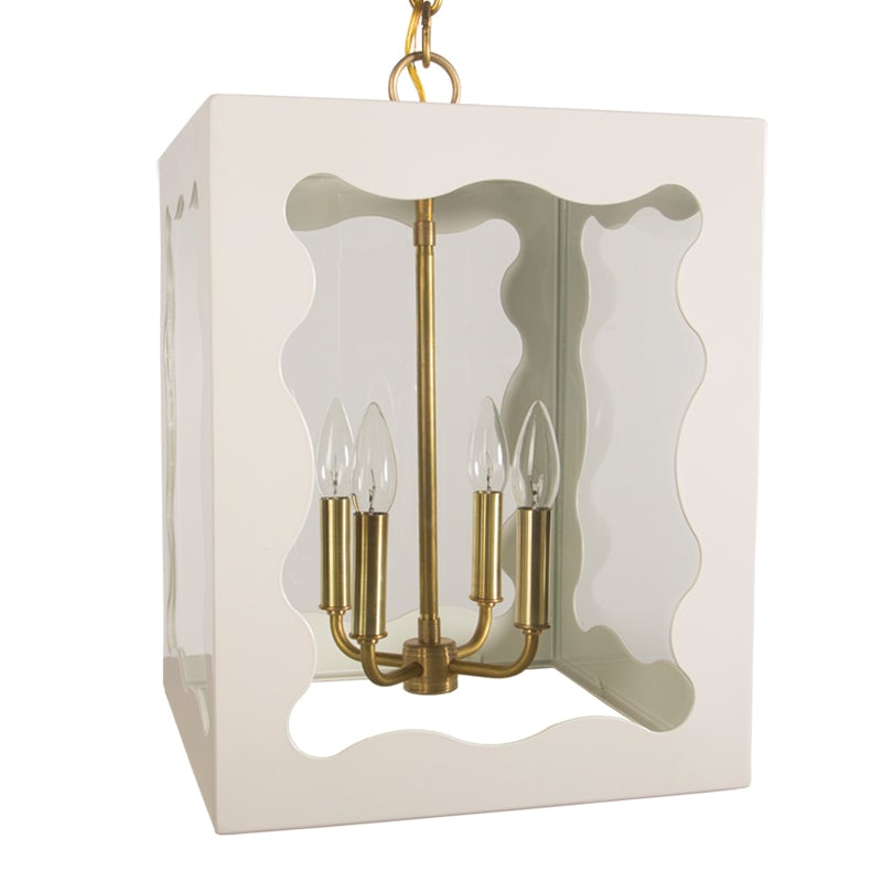 The Calliope Lantern in Standard Ivory