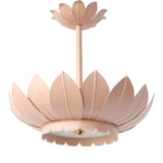 Load image into Gallery viewer, The Leafy Pendant in Standard Blush Finish