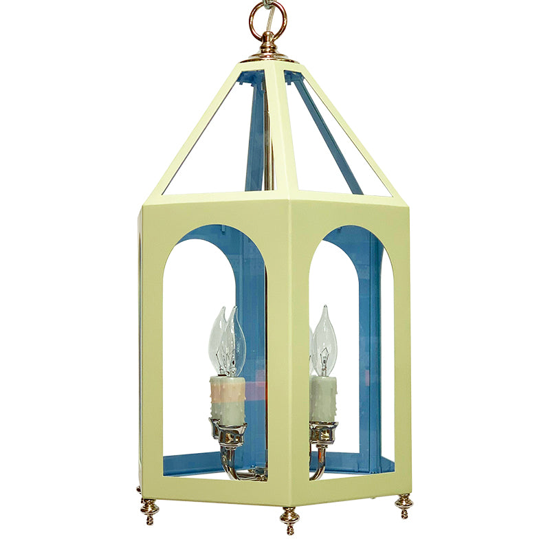 The Lucia Lantern in a Custom Color Combination