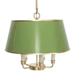 Load image into Gallery viewer, The Maisie in Custom BM Courtyard Green w/ Gold Gilt Trim & Brass Hardware