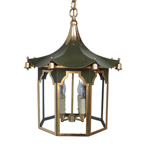 The Pagoda Lantern in a Custom Green
