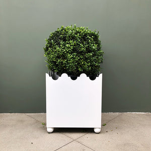 IN STOCK PAIR PALOMA PLANTERS - WHITE