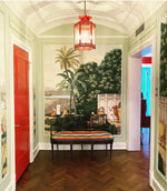 Load image into Gallery viewer, The Large Sarafina Lantern in a Foyer / Interior Design by Jenny Brown