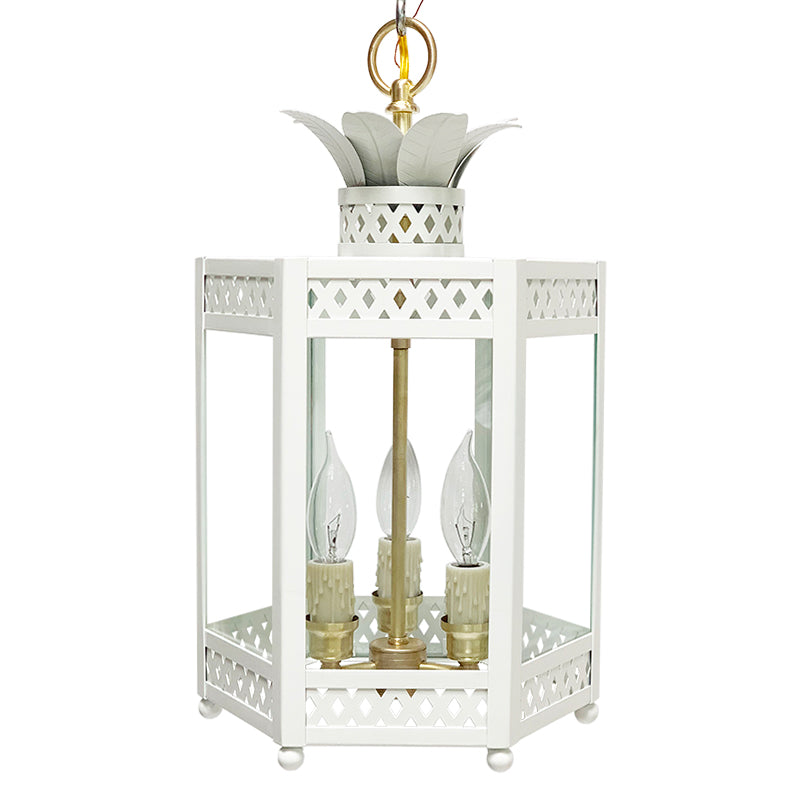 The Sarafina Lantern in BM Super White