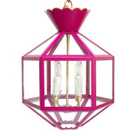 Load image into Gallery viewer, The Vivienne Lantern in a Custom Hot Pink