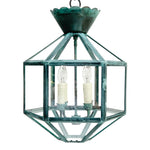 Load image into Gallery viewer, The Vivienne Lantern in Verdigris