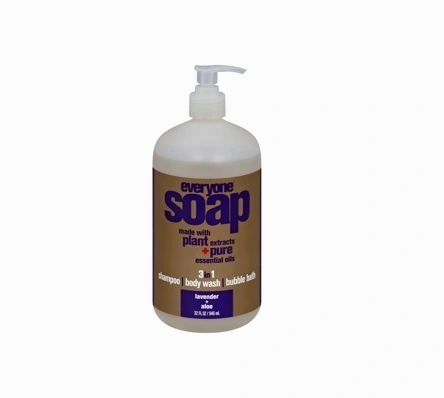 Everyone Soap For Every Body 3 in 1 Liquid Soap - Lavender and Aloe, 32oz