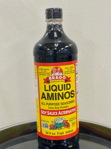 Liquid Aminos Soy Sauce Alternative