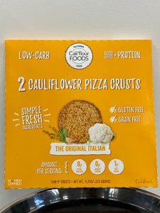 Cauliflower Pizza Crust