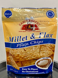 MIllet and Flax Chips