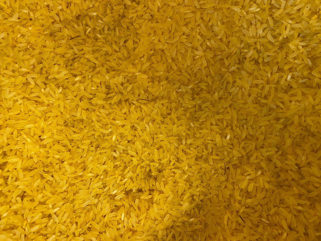 Natural Saffron Jasmine Rice