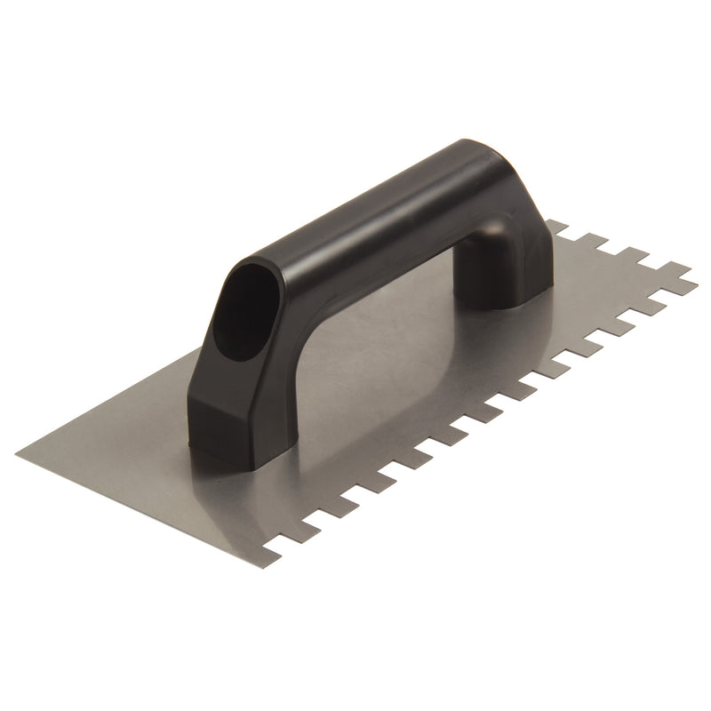 "Steel Notched Trowel 1/4"" X 10"""