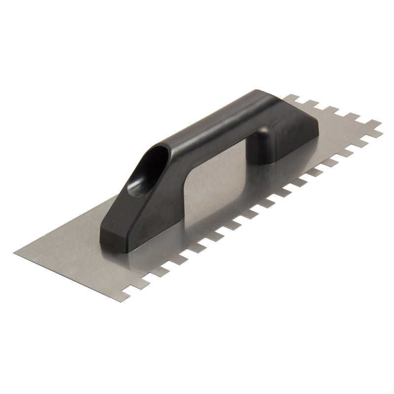 "Steel Notched Trowel 1/2"" X 15"""
