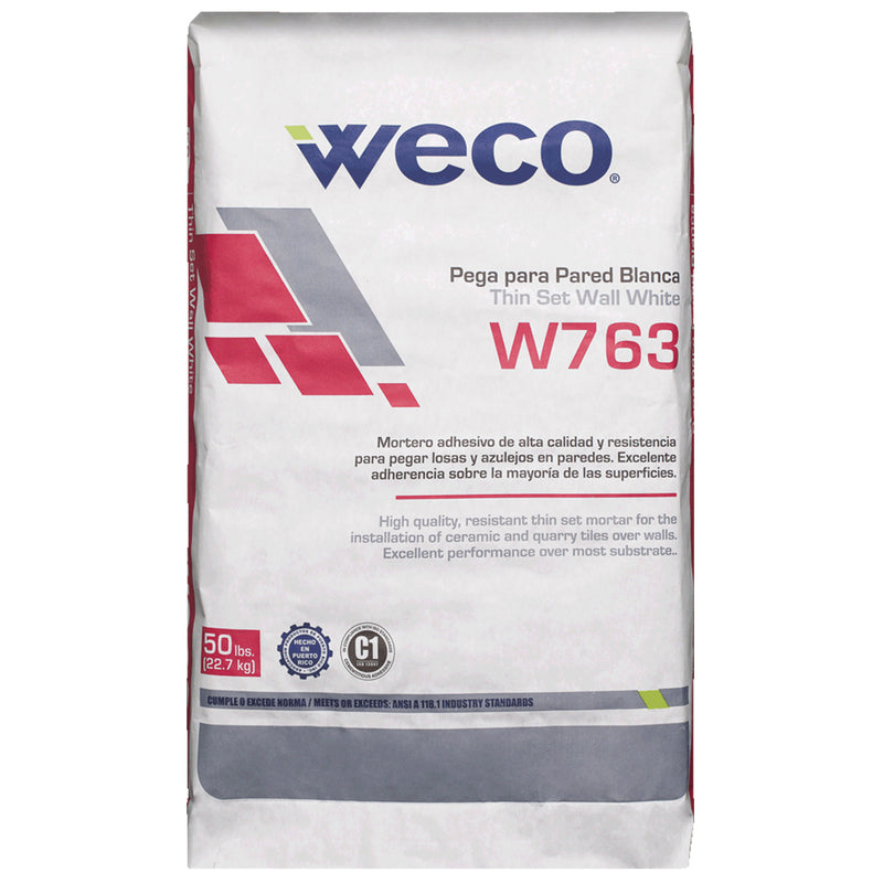 W-763 Wall Thinset White