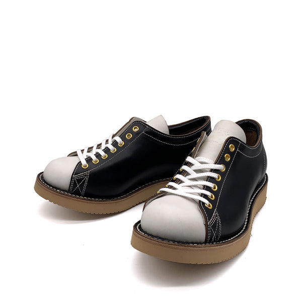 BONEAKERS LOW 【BLACK & WHITE, VIBRAM #2021 BEIGE】