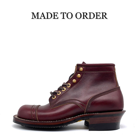 STANDARD BOOTS 【MEDALLION TOE CAP & 5 INCH HEIGHT】