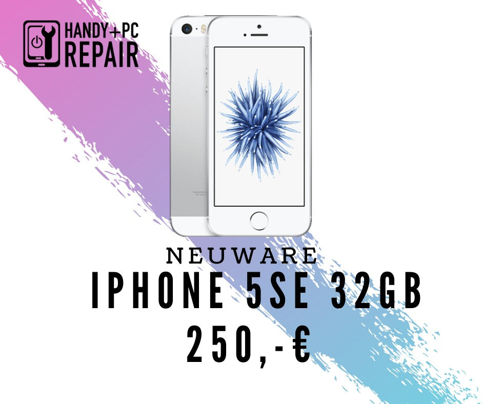 APPLE IPHONE 5 SE 32GB SILBER - NEUWARE