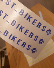 Load image into Gallery viewer, North West Bikers Visor Decal's