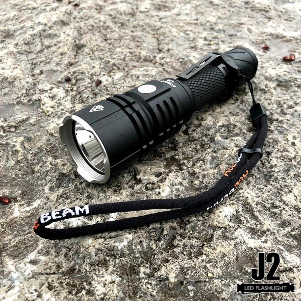 Flashlights of Military Grade AceBeam L16 2000 Lumens LED Tactical Flashlight with lanyard