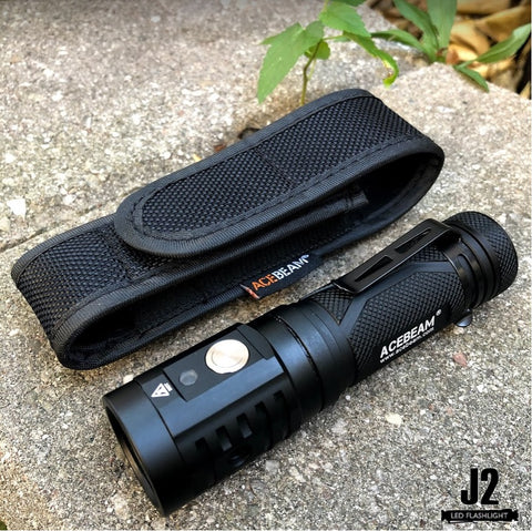 Acebeam EC65 led flashlight with holster