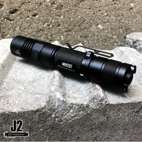 Overview of the Nitecore MH12GT LED Flashlight