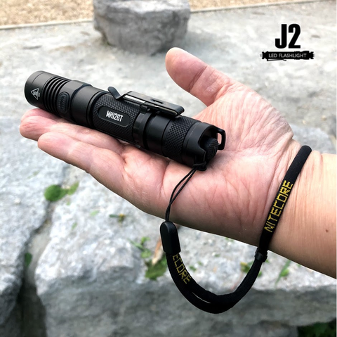 Nitecore MH12GT with attachable lanyard