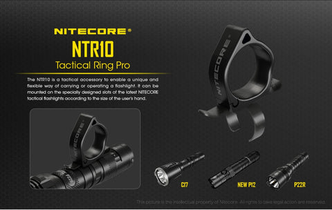 Nitecore NTR10 Tactical Ring Pro