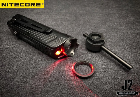 NiteCore P18 1800 Lumen CREE XHP35 HD Search utdoor Camping Flashlights with aggressive bezel