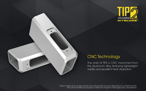 Nitecore TIP2 has CNC technology.