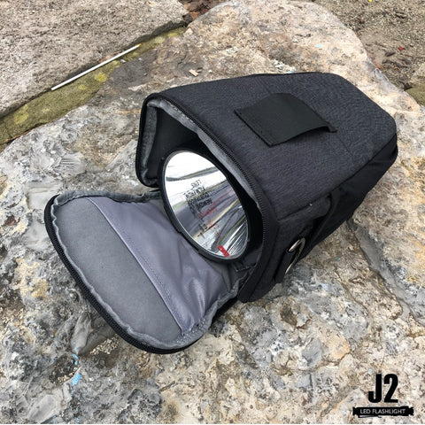 Shoulder Sling Bag Pouch Water Resistant Carrying Bag with Adjustable Strap for Acebeam huge led flashlights in Toronto, Ontario, Canada
