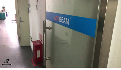 j2ledflashlight visits Acebeam head office in China