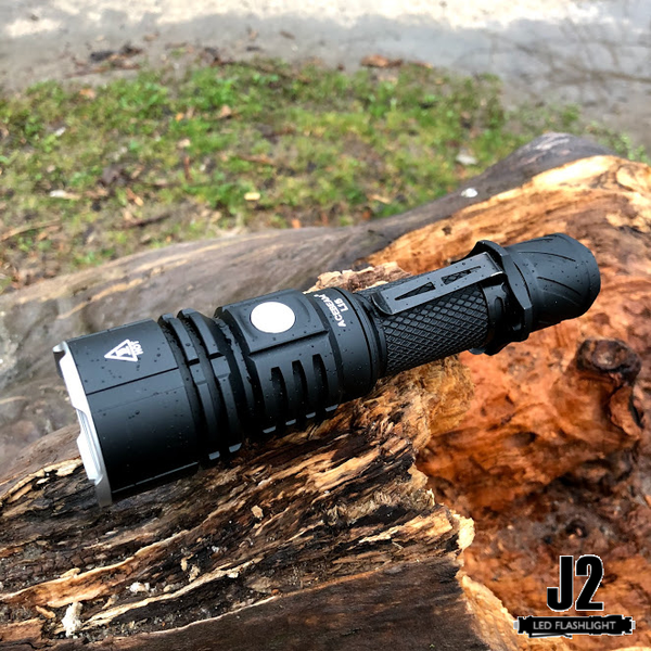Flashlights of Military Grade AceBeam L16 2000 Lumens LED Tactical Flashlight with Battery