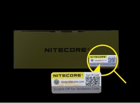 Nitecore D2 Digicharger with Validation Code