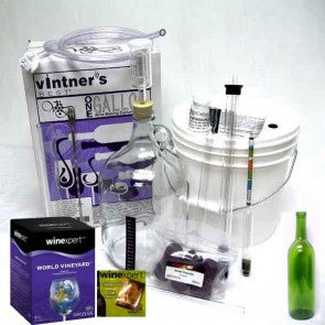 Combo Kit for 1 Gallon Wine Making