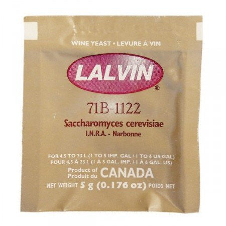 Lalvin 71B-1122 White Wine Yeast