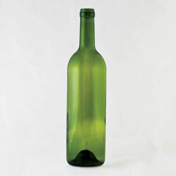 750 ml Green Bordeaux - Punted