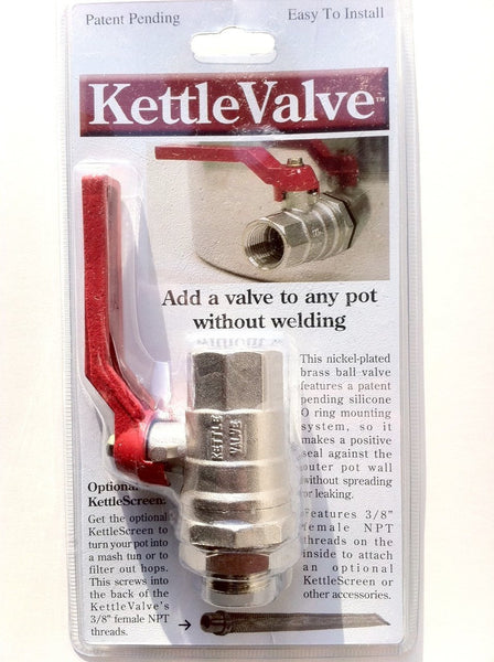 Brewer's Edge - Kettle Valve