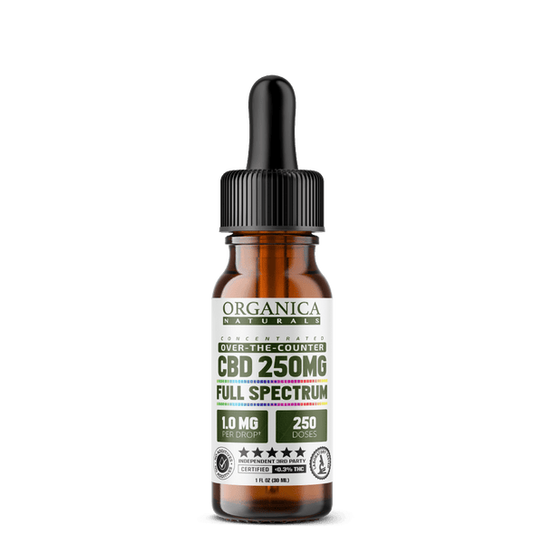 Organica Naturals Full Spectrum CBD Oil 250mg