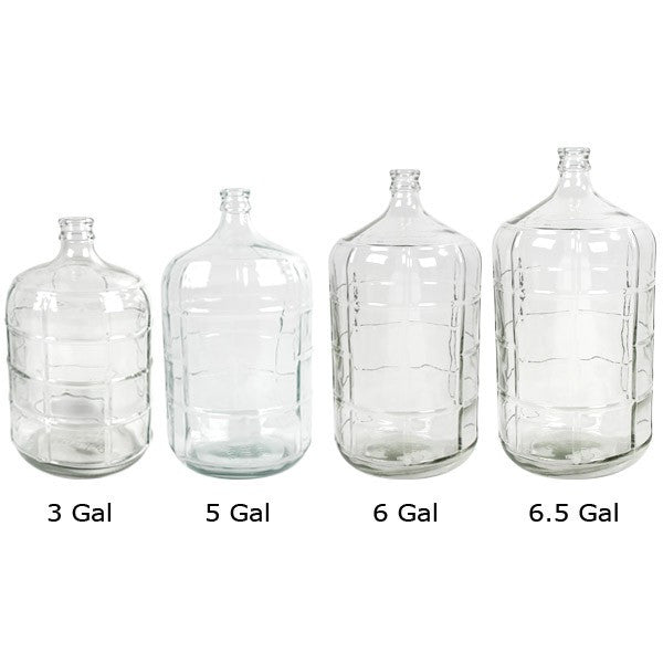 Glass Carboys 3 To 6 5 Gallon Brew Amp Wine Hobby