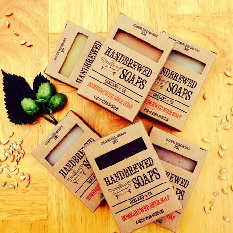 Hand Brewed Soaps